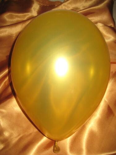 Luftballons metallic 50 Stk Hochzeit Geburtstag Fest Farbe nach Wahl Deko
