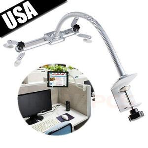 Universal-Desktop-360-Adjustable-Mount-Holder-Stand-Cradle-for-iPad-2-Tablet-PC