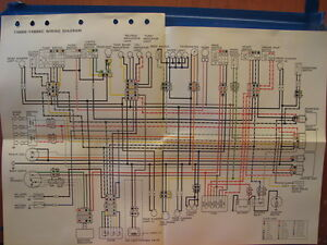 nos yamaha factory wiring diagram 1996 yx600 s yx600 sc image is loading nos yamaha factory wiring diagram 1996 yx600 s
