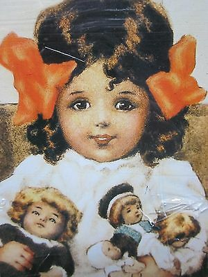 BESSIE PEASE GUTMANN metal sign dolls NEW wall art piece