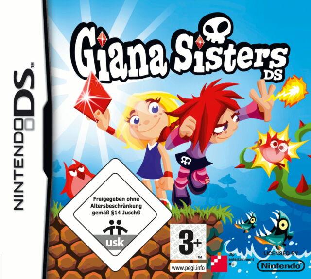 NUR MODUL Giana Sisters DS für Nintendo DS lite DSi XL 3DS 2DS Spiel M