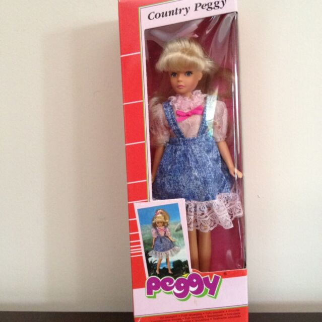 Vintage Country Peggy Doll By Lundby Petra New In Box Great Find