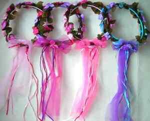 FLOWER HALOS~*~1 Halo~*~FAIRY PRINCESS ANGLE DRESS UP