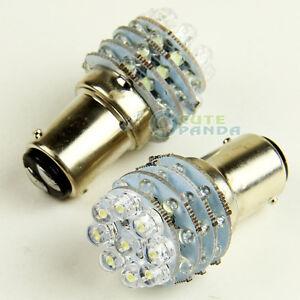2X-12V-36-LED-BA15D-1157-S25-Globe-For-Caravan-Boat-Ship-Anchor-Brake-Light-Bulb