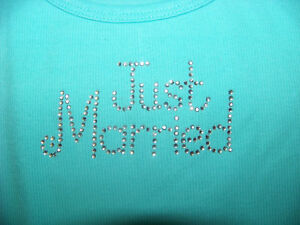 Victorias-Secret-Just-Married-Tank-Top-NWT-Bling-Bride