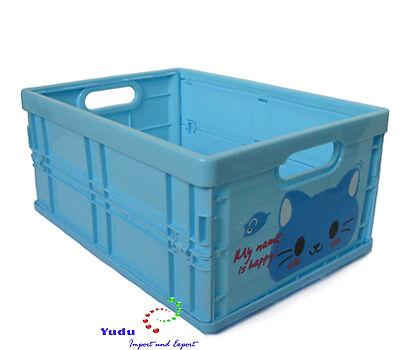 Aufbewahrungsbox  Sortierbox Klappbox süße Motiven bunt