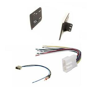 Versa-Radio-Stereo-Install-Double-Din-Dash-Kit-Wire-Harness-amp-Antenna-Adapter