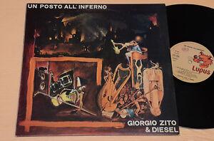 GIORGIO-ZITO-amp-DIESEL-LP-UN-POSTO-ALL-039-INFERNO-ITALY-PROG-1-ST-ORIG-1978-TOP-EX