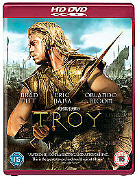 Troy-HD-DVD-in-Good-Condition-Saffron-Burrows-Trevor-Eve-Peter-O-039-Toole-Julie
