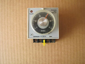 Omron HBH Power OFF Delay Timer Relay With Base Free Shipping - Power off relay