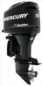 NEW-MERCURY-MARINER-OPTIMAX-XS-150hp-L-XL-Shaft-Outboard-Motor-Engine-Two-Stroke