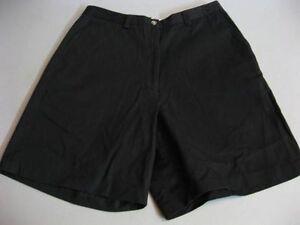 Womens-TOMMY-HILFIGER-Golf-Classic-BLACK-Walking-Chino-Golf-Shorts-Size-8-W29