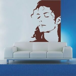 Image Is Loading Top Design Michael Jackson Wall Art Decal Mural  Part 69