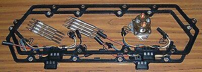 Powerstroke 7.3L Glow Plug Kit - Gaskets, UVC Harnesses, Glow Plugs, Relay 94-97