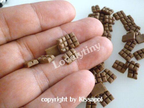 Wholesale 100pcs.Dollhouse miniature mini Chocolate Bar, Free shipping