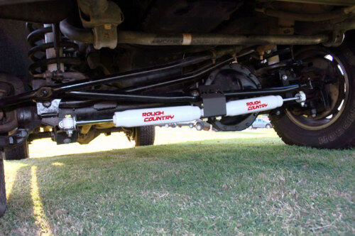 Dodge Ram 2500 (2003-2013) / 3500 (2003-2012) Dual Steering Stabilizer Kit