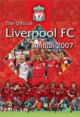"""""""AS NEW"""" Official Liverpool FC Annual 2007 2007, , Book"""