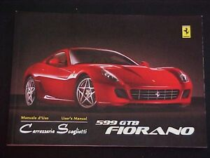 FERRARI 599 OWNERS MANUAL EPUB DOWNLOAD
