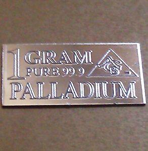 Palladium-99-9-Pure-1-GRAM-Precious-Metal-ACB-Very-Rare-Bullion-PD-Bar-FREE-GIFT