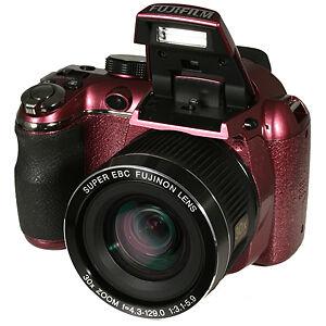 Fuji-Finepix-S4080-Full-720p-HD-14MP-Digital-Camera-30X-Zoom-3-034-TFT-LCD-PLUM