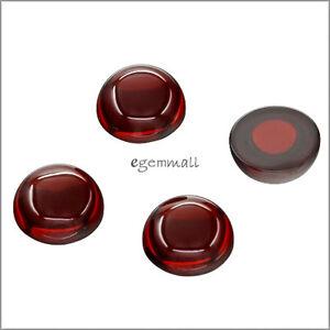6-Lab-CZ-Cubic-Zirconia-Round-Cabochon-8mm-Garnet-Red-92010