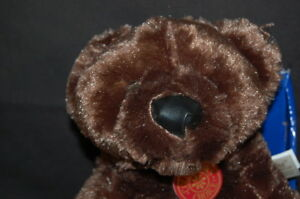"Dan Dee Brown Collectors Teddy Bear STUFFED ANIMAL LOVEY TOY NEW Box 10"" Plush"