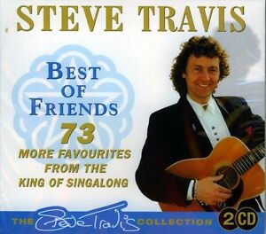 STEVE-TRAVIS-BEST-OF-FRIENDS-NEW-SEALED-2CD