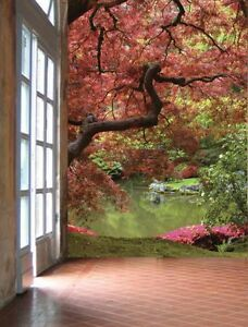 Image Is Loading Japanese Garden Wall Mural 6 039 Wide By  Part 71