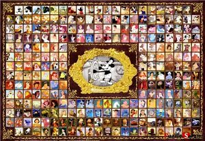 Jigsaw-Puzzles-1000-Pieces-Disney-Character-Collection-Disney-Tenyo