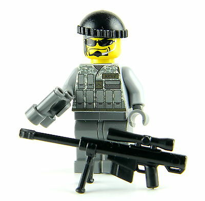 Lego minifigure SNIPER army  special forces custom