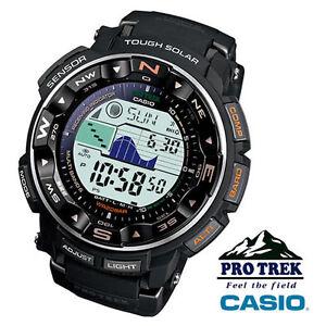 Casio-ProTrek-PathFinder-PRW2500-1-Solar-Atomic-Watch-New-In-Box
