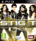 Disney Sing It: Party Hits (Sony PlayStation 3, 2010) - European Version