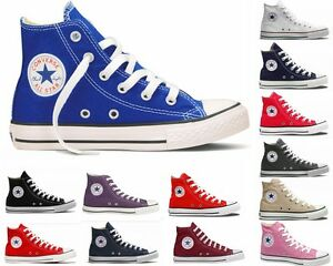 Mens-Womens-Converse-CT-All-Star-HI-Canvas-Trainers-Fifteen-15-Colours-UK-3-12