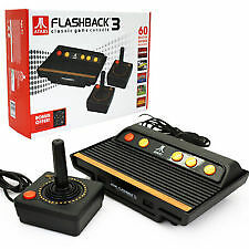 Atari console flashback 3 classic console with 2 - Atari flashback 3 classic game console ...