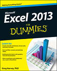 Excel 2013 For Dummies by Greg Harvey (Paperback, 2013)