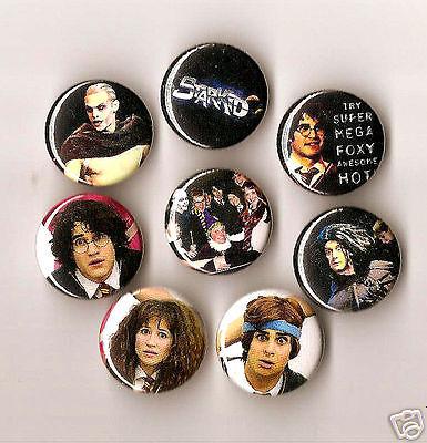 "Set of 8 Starkid AVPM AVPS 1"" inch pinback badge buttons Darren Criss"