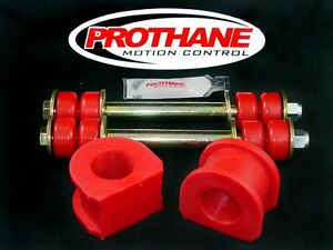 Prothane-7-1104-Front-1-1-16-034-Sway-Bar-Bushings-amp-End-Link-Kit-Chevy-GMC-2WD-S10