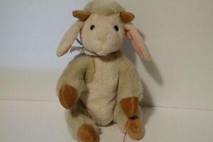 The North American Teddy Bear Co. Vintage Kiddley D'Ivy Lamb Plush 1990