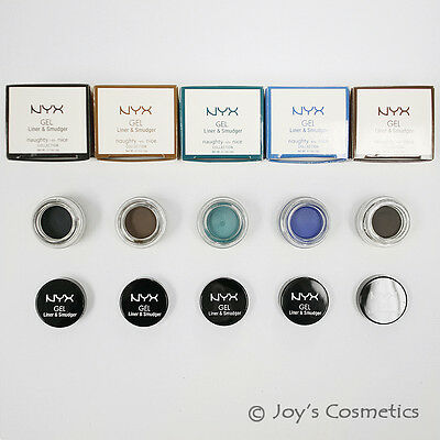 "1 NYX Gel Liner and Smudger -Naughty vs nice ""Pick Your 1 Color""*Joy's cosmetics"