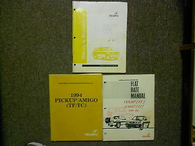 1994 ISUZU AMIGO PICKUP Service Repair Shop Manual Book SET FACTORY OEM 94