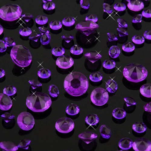10000 Wedding Decoration Scatter Table Diamonds Acrylic Crystals Confetti