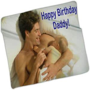 """Personalized & Custom made from your picture Fleece Blanket 80""""x60"""""""