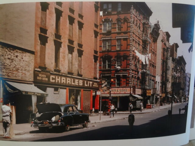 1953 Eldridge to Hester Lower East Side NYC New York City Photo