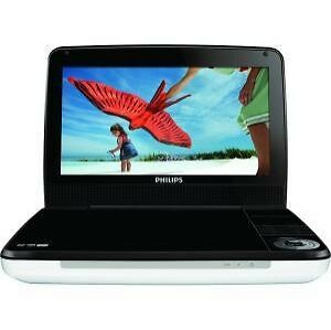 philips pd9000 37 9 lcd portable dvd player black. Black Bedroom Furniture Sets. Home Design Ideas