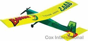 049-Model-Airplane-RC-Radio-Control-Kit-Tissan-Haifa-Banana-with-Cox-049-Engine