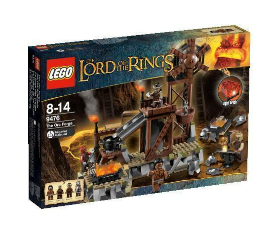 LEGO 9476 The Lord of the Rings The Orc Forge - NEW & SEALED
