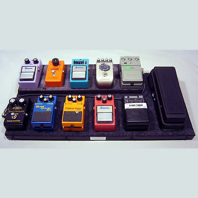 Guitar Pedalboard 10+1 Black with Case