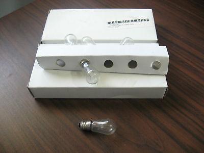 Lot of 15 New 3S6/5/130V Bulbs 130V, 3W