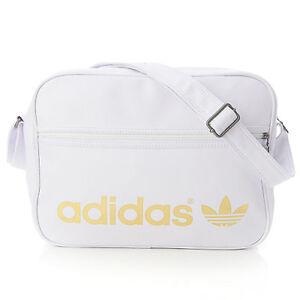 Chargement de l image BN-Adidas-Originals-AC-Airline-Messenger-Bag-White- e3bdb853bb0e1