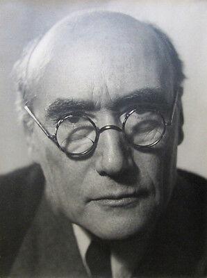 "PHILIPPE HALSMAN Signed 1931 Photograph - ""André Gide"""